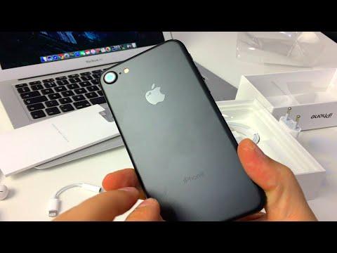 iPhone 7 Black Matte Unboxing