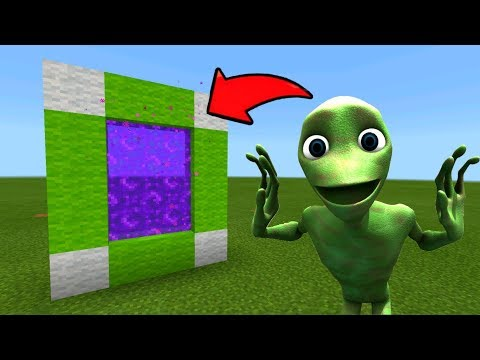 Minecraft Pe How To Make A Portal To The DAME TU COSITA Dimension - Mcpe Portal To DAME TU COSITA!!!