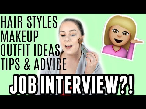 GRWM: Nail Your Job Interview | TIPS + MAKEUP + OUTFIT + HAIR | MakeupbyMegB