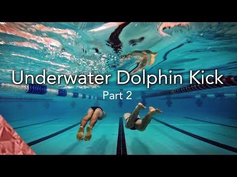 2 Skills to improve your underwater dolphin kick. Swim faster underwater