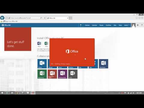How to Download and Install Word, Excel, PowerPoint, Outlook