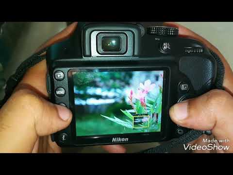 How to get blur background in single lens 18-55mm in nikon or canon dslr camera in hindi