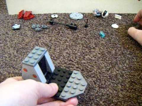 How to make a lego attack chopper