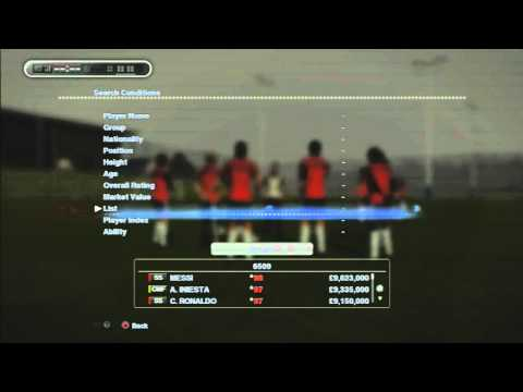 Sneak Peek - Pro Evolution Soccer 2013 (PES 2013) - Master League Transfer System