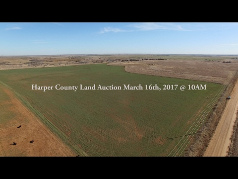 160+/- Acres of Harper County Land & Minerals Auction