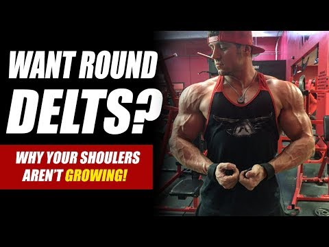 CORRECT Shoulder Press Form for Cannonball Delts! - Mitch Muller