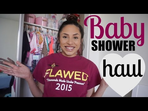 First Baby Haul - BABY SHOWER HAUL!