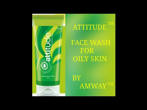 Amway Attitude Face Wash for Oily Skin Detail