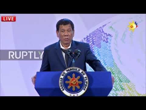 Philippines: 'Don't f**k with my country,' Duterte rages at presser