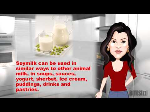 Storing and Using Soymilk