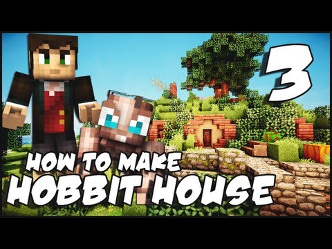 Minecraft: How To Make a Hobbit House - Part 3