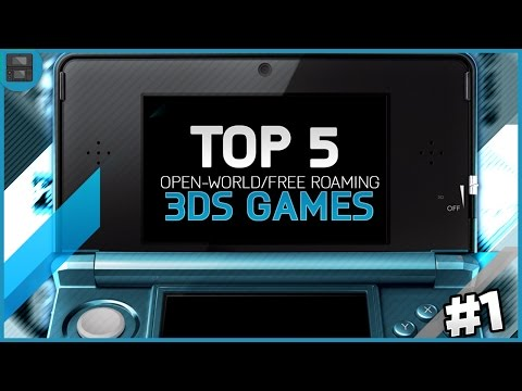TOP 5 OPEN WORLD/FREE ROAMING 3DS GAMES! - Open World / Free Roaming Games for 3DS!