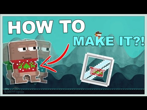 Growtopia - HOW TO MAKE NEW WINTER SWEATER!