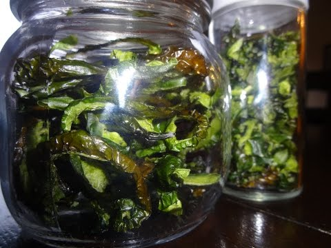 How to dehydrated green peppers for long term storage