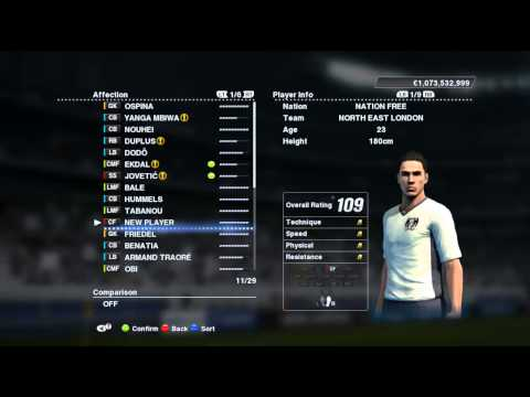 Best Master League Players (Pes 2013)