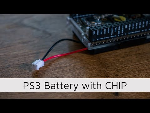 PS3 Controller Battery with CHIP Computer