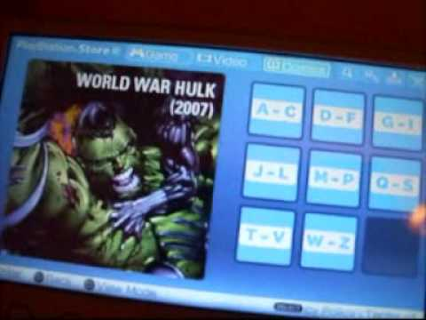 How to get Digital Comics onto your PSP from the PlayStation Store