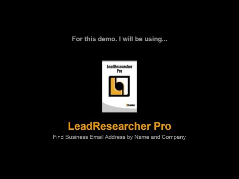 How to Find Business Email Addresses | Email IDs Search Software | Append Business email Ids