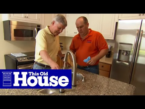 How to Install the Plumbing for a Kitchen Sink - This Old House