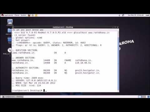 rhel 6 bind primary dns server in redhat linux in hindi part 1