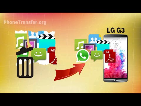 [LG G3 Data Recovery]: How to Recover Deleted or Lost Data from LG G3 Easily