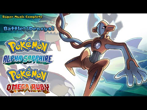 Pokémon Omega Ruby/Alpha Sapphire - Vs Deoxys (Highest Quality)