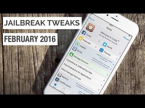 Top 10 NEW Cydia Tweaks February 2016 - iOS 9 to 9.0.2  (iPhone/iPod/iPad) 2016