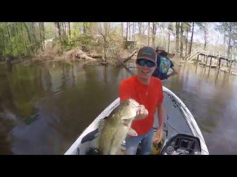 Big Bass Fishing at Toledo Bend(March 14,2016)