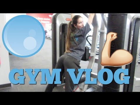 BUBBLE BOOTY @ THE GYM  VLOG 13 