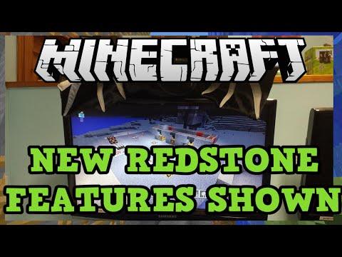 Minecraft Xbox 360 + PS3: Redstone Comparator Dropper TNT Minecart