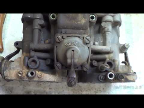 VW Weber 40 IDF , Lets take it apart