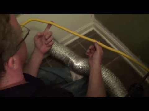 How to Clean Lint from Dryer - Dryer Vent Cleaning Kit