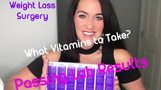 What Vitamins Should I Take? Passing Lab Results 💯   RNY Gastric Bypass   Weight Loss Surgery