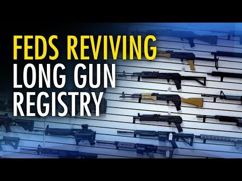 Trudeau's Bill C-71 revives the long gun registry