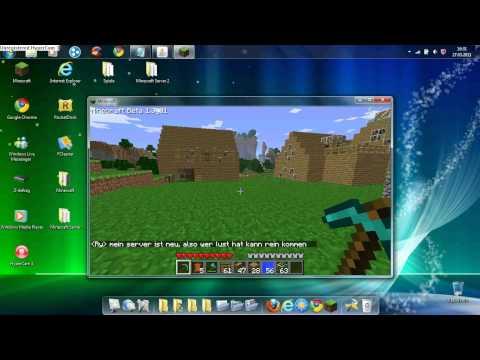 Minecraft Bukkit Server 1.1 [Hamachi online]