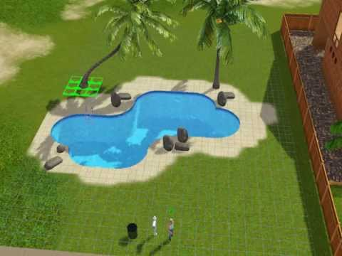 how to build a cool swimming pool sims 3