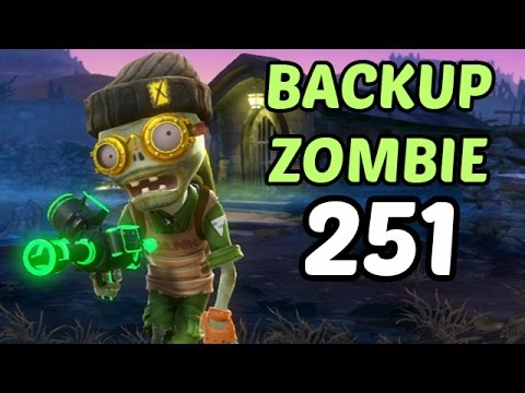 Let's Play Plants Vs Zombies Garden Warfare #251 Deutsch - Backup Zombie