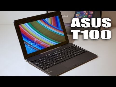 Asus Transformer Book T100 / T100TA Review + Gaming Test