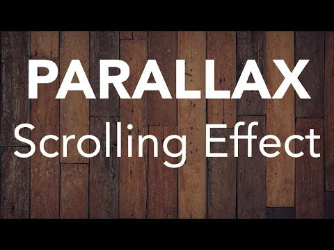Parallax Scrolling Effect with Fixed Background Using HTML & CSS