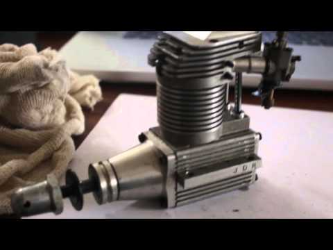Fixing a Laser 61 model engine that has lost compression.