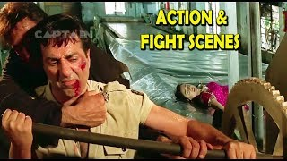 Sunny Deol Full Action Fight Scenes