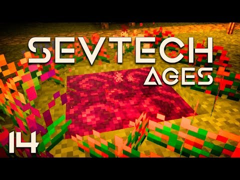 SevTech: Ages EP14 Astral Sorcery Twilight Forest Portal