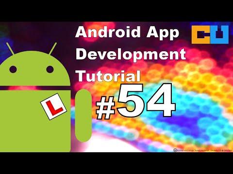 Android Tutorial #54 Set Portrait Landscape mode using XML entry in manifest file
