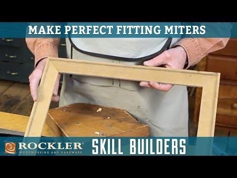 Make Perfect Frame Miters | Rockler Skill Builders