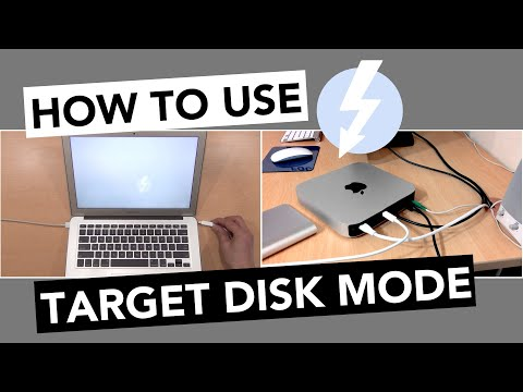 USING TARGET DISK MODE Mac