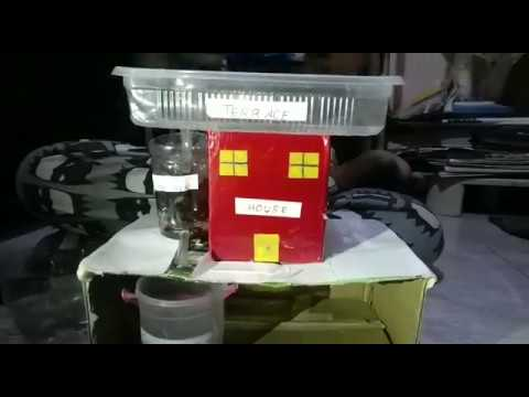 How to make Rainwater Harvesting using simple materials(Explained by K.Jayshree)