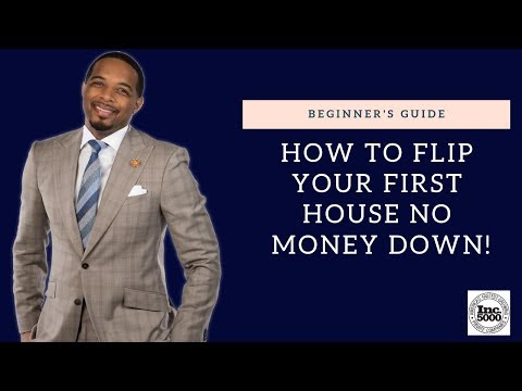 How to Flip Your First House NO MONEY DOWN!!
