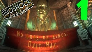 Bioshock Remastered Ps4 Walkthrough - No Commentary Part 1 (ps4 Gameplay)