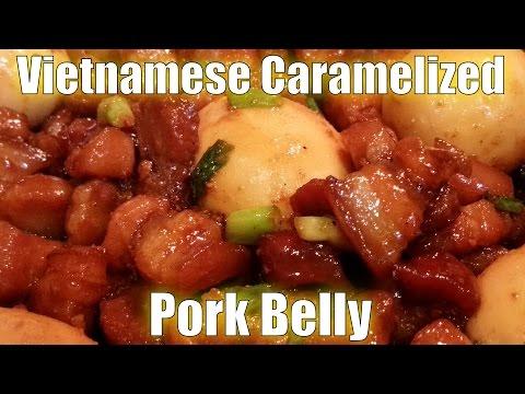 Vietnamese Caramelized Pork Belly Recipe 2015
