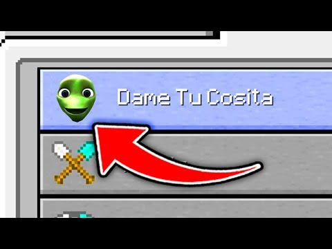 Minecraft : How To Play DAME TU COSITA MINIGAME (Ps3/Xbox360/PS4/XboxOne/PE/MCPE)